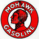 MOHAWK INDIAN GASOLINE 12 VINYL GAS PUMP DECAL DC-161  Free S&H