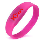 Unisex Digital LED Outdoor Sports Watch Popular Silicone Band Wrist Watches