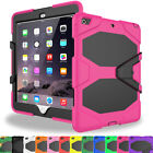 Case Cover For Apple iPad Mini 4 Military Safe Armor Skin Shockproof Kickstand