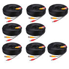 Lot -HU82 5M-30M Security Camera Cable CCTV Video Power Wire BNC RCA Cord Lot