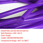 Purple HIGH TEMP Food Grade Silicone Tube Beer Brew Flexible Hose Pipe Sizes&Len