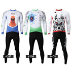 Men's Youth Sport Running Suits Outdoor Coat Pants Cycling J