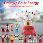 Car Decor Solar Powered Dancing Animal Doll Swing Animated Bobble Toys Gift