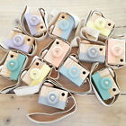 Wooden Camera Baby Kids Hanging Camera Photography Prop Decoration Children Toy