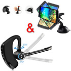360° Phone Car Holder Mount + Bluetooth Headphones In Ear W