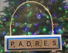 San Diego Padres Christmas Ornament Scrabble Tiles Magnet on Ebay