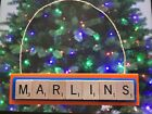 Florida Marlins Christmas Ornament Scrabble Tiles Magnet Rear View Mirror on Ebay