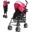 Folding Lightweight Baby Toddler Umbrella Travel Stroller w Storage Basket New