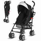 Folding Lightweight Baby Toddler Umbrella Travel Stroller w/ Storage Basket New