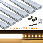 Kyпить 6/12Packs LED Strip Light Channel 1M each Aluminum Profile Channel Holder U Type на еВаy.соm