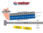 2 Las Vegas NHRA TOYOTA NATIONALS Tickets, Thursday, October 25, 2018, Section D