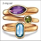 Avon Holiday Party 3 Piece Ring