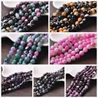 Wholesale 8mm Faceted Natural Stone Agate Gemstone Round Loose Spacer Beads