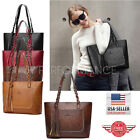Внешний вид - Women Tote Bag Leather Bags Handbag Shoulder Hobo Purse Messenger 87