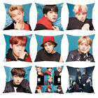 18'' Kpop BTS Bangtan Boys Face Yourself Cotton Linen Cushion Cover Throw Pillow