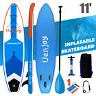 Купить 10' /11' Inflatable SUP Stand up Paddle Board Surfboard Adjustable Fin Paddle