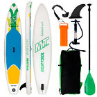 10-11-Inflatable-SUP-Stand-up-Paddle-Board-Surfboard-Adjustable-Fin-Paddle