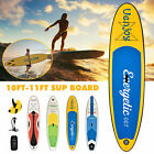 Kyпить 10' /11' Inflatable SUP Stand up Paddle Board Surfboard Adjustable Fin Paddle на еВаy.соm