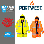 Portwest Biz Flame Rain Hi-Vis Antistatic Fr Jacket S778