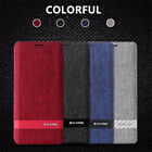 G-CASE Funky Series Canvas Flip Case For Samsung Galaxy Note 9 Card Slot Cover