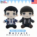 Detroit Become Human Connor RK800 Plush Doll Stuffed Pillow Toy Gift