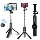 Bluetooth Selfie Stick Tripod Remote Extendable Monopod for iPhone GoPro Android
