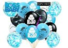 Boss Baby Confetti Balloon Balloons Party Decoration Supply Baby Shower Boy