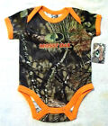 Mossy Oak Break-Up Country Camouflage Romper Boys 3/6M or 6/9M NWT