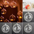 CCB5 459D Round Candle 12cm Vase Glass Wedding Ball Hanging Vase Hanging Glass