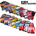 Kids / Junior Grappling MMA Gloves UFC Boxing Punch Bag Fight Muay Thai Training