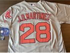 JD Martinez Boston Red Sox Majestic Jersey Gray Flex Base 300 Mens Medium 2XL