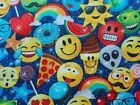 Emoji Fabric Timeless Treasures Sewing Quilting Cotton BTHY BTY