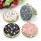 Внешний вид - Women Makeup Compact Pocket Floral Mirrors Portable Double-side Folding Mirror