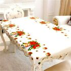 Christmas Home Kitchen Dining Table Cloth Covers Decorations