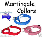 Obedience Half Check Collar - Utility Dog Collar Martingale ( 4 sizes) 7 colours