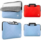 "VanGoddy Leather Laptop Sleeve Case Carry Bag For 15""-15.6"""