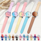 11 Colors Kids Gradient Watch Stainless Steel Quartz Students Women Watches
