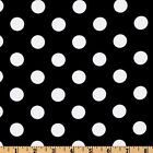 "25ft Polka Dot Satin Aisle Runner 60"" Wide 100% Polyester Fabric 7 Color Wedding"