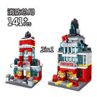 World Famous Landmarks Mini Street View Building Bricks Toys Construction Blocks