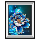 Delicate Peony Resin Diamond Cross Stitch Embroidery Painting Craft Decorative