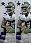 DALLAS COWBOYS VS DETROIT LIONS  SEPTEMBER 30th  2 TICKETS SECTION 409 on eBay