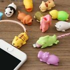 Внешний вид - 5PCS Cute Animal Bite Phone Holder Cable Protector Organizer For iPhone XS Max