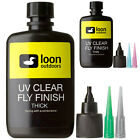 LOON OUTDOORS UV CLEAR FLY FINISH - Fly Tying UV Cure Resin 2 oz - Thin or Thick