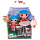 Large Lalaloopsy Rosie Bumps and Bruises & Lil Sister Stumbles Dolls