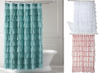 "Внешний вид - 1PC CHIC BATHROOM BATH SHER FABRIC SHOWER CURTAIN MULTILAYERED 72"" X 72"" GYPSY"