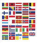 S M L XL Size Hot European Countries Flag Funny Viny Car Decal Sticker Graphics