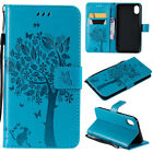 Flower PU Leather Case For iPhone XS / XS Max Credit Card Holder Magnet Cover