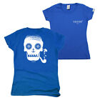 FB Sailing Tee - Skull - Novelty Womens Fitted Cotton T-Shirt Top T Shirt