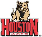 University of Houston Cougars Color Vinyl Decal Sticker You Choose Size cornhole