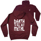 FB Music Hoodie Death To All Novelty Birthday Christmas Gift Hoody Jumper
